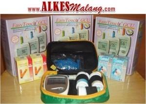 Alat Tes Asam Urat Gula Darah dan Kolesterol | Easy Touch GCU Di Malang
