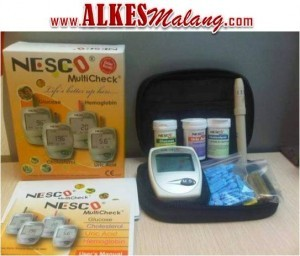 Alat Tes Gula Dara Kolesterol Asam Urat | Nesco GCU Malang