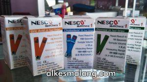 Strip Nesco Multi check Glucose Cholesterol Uric Acid Jual Strip Nesco Malang