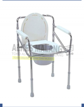 KURSI BAB COMMODE CHAIR DELUXE ONEMED alkes malang