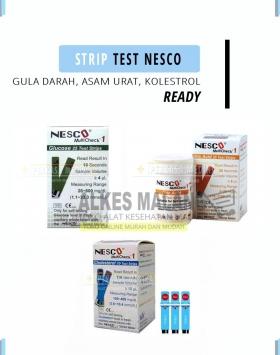 [Alkes-Malang] Strip Gula, Asam Urat dan kolestrol Nesco di Malang copy