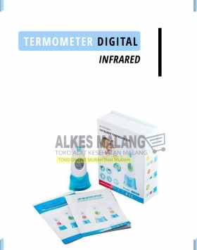 [Alkes-Malang] TERMOMETER DIGITAL infrared Malang