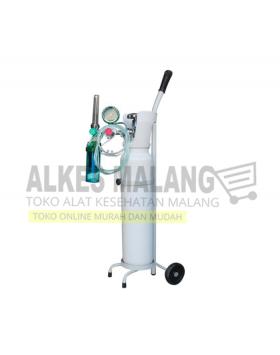 5 Alkes Malang 1 set tabung oksigen + regulator siap pakai