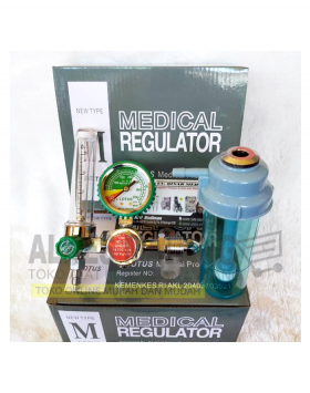 9 Regulator oksigen Lotus alkes malang