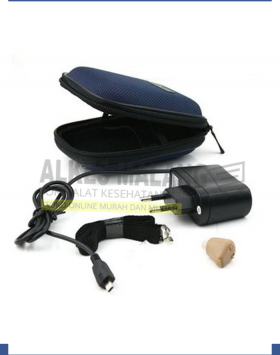 K-88 Re-charge-able Hearing Aid K88 ALKES MALANG