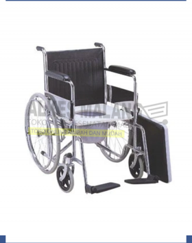 KURSI RODA 2IN1 ONEMED COMMODE CHAIR TEMPAT BAB BUANG AIR BESAR ALKES MALANG