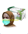 Masker Jilbab Green OneMed box 50pcs ALKES MALANG