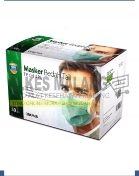 Masker Tali OneMed Tie One box 50pcs ALKES MALANG