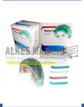 NURSE CAP ONEMED 1 BOX ISI 100 ALKES MALANG