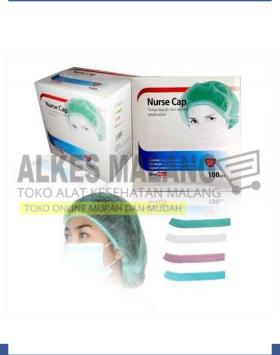 NURSE CAP ONEMED 1 BOX ISI 100 ALKES MALANG