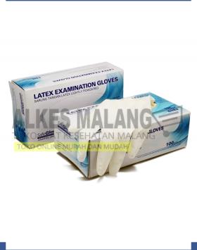 Sarung Tangan Latex Exam Safeglove Ekonomis - S ALKES MALANG