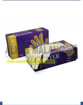 Sarung Tangan Maxter Exam Glove Non Powder Size XS ALKES MALANG
